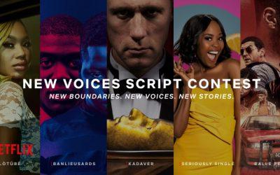 Netflix start zoektocht naar nieuwe generatie scenarioschrijvers